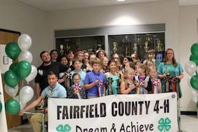 Fairfield 4-H recognition