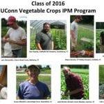Vegetable IPM Class of 2016