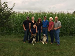 Brush Hill Farm family
