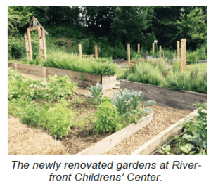 garden at Riverfront Childrens' Center