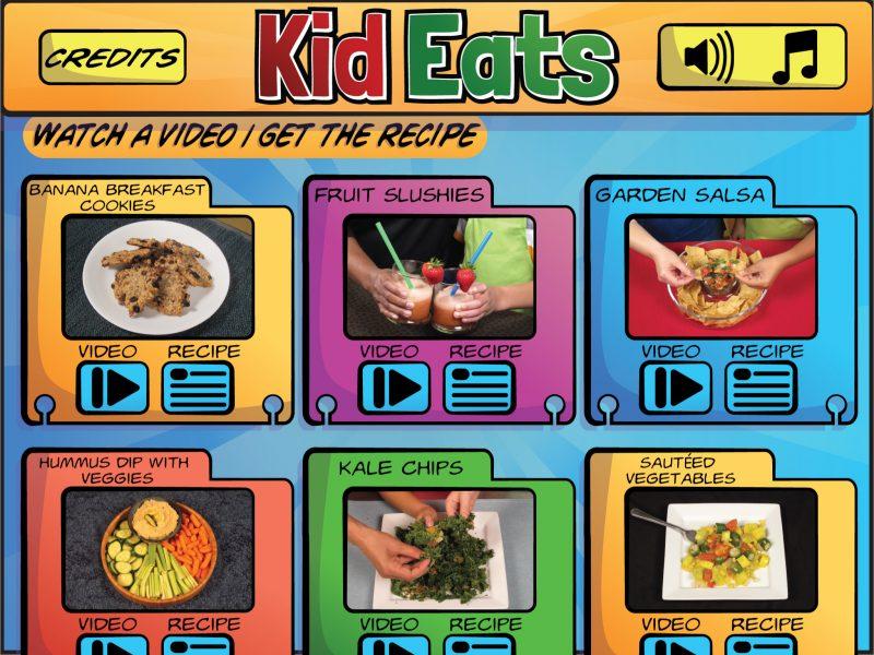 Kid Eats app