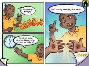 Kid Eats app visual