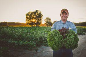 Billy Collins on farm