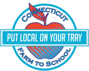 put local on your tray image with apple for connecticut farm to school program