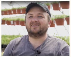 Bruce Gresczyk Jr. talks about food safety on his farm
