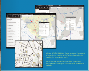 maps and other tools are available online for municipalities working with the MS4 guidelines