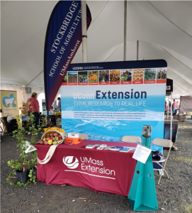 Extension booth at Farm Aid