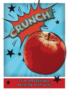 apple crunch poster