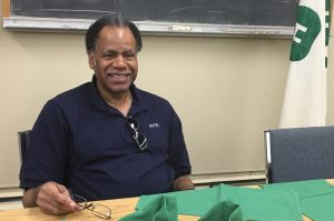 Ken Trice volunteering at Tolland County 4-H program