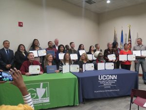 2018 Urban Agriculture graduates from the UConn Extension program