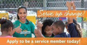 FoodCorps service member banner photo