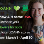 Support 4-H Through Your Local Tractor Supply and JOANN Stores