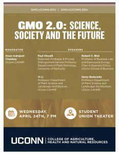 GMO panel flyer