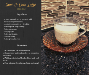 smooth chai latte