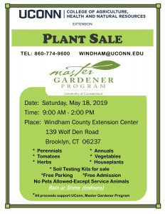 Windham Plant Sale flyer