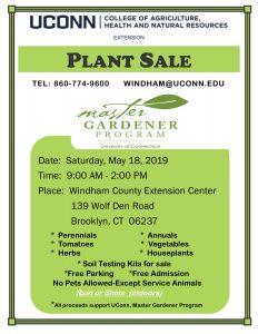 Windham Plant Sale flyer