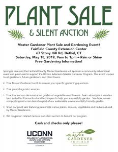 Fairfield Plant Sale flyer