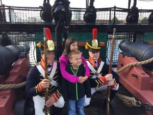 Reading Makes Sense Youth on the USS Constitution in Boston