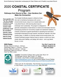 coastal certificate program flyer