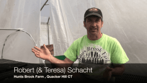 Robert Schacht photo of him talking about local food in Connecticut schools