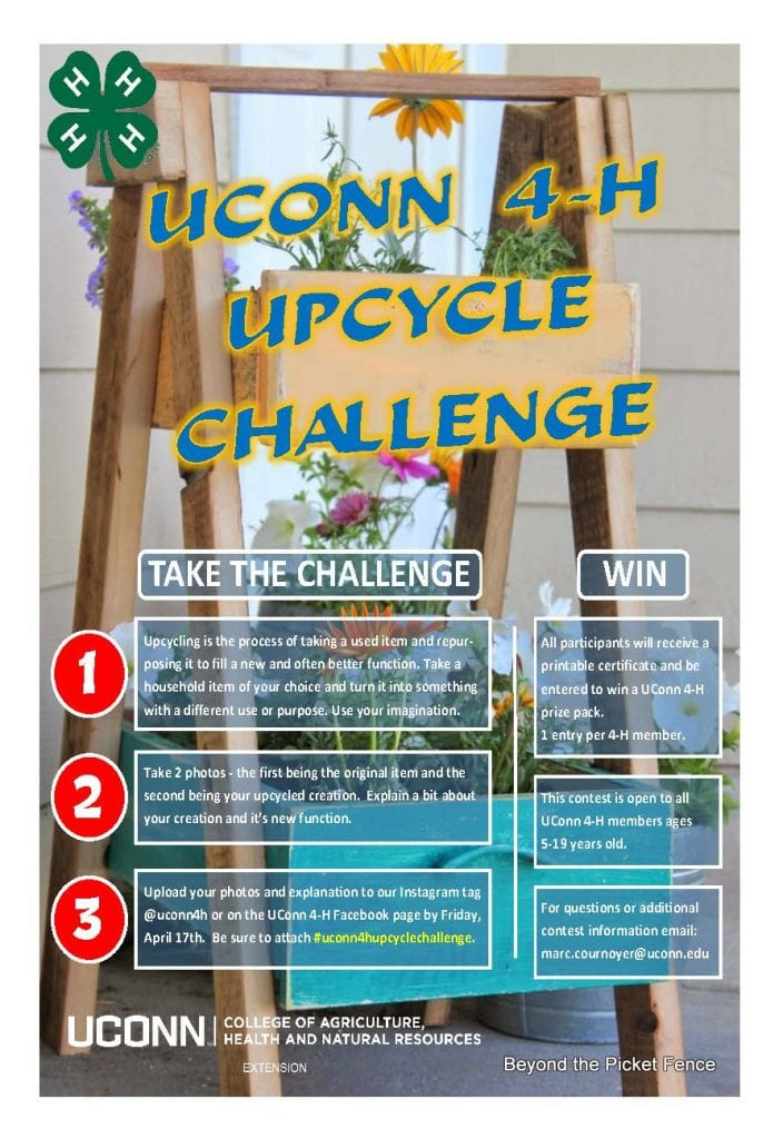 UConn 4-H Upcycle Challenge logistics