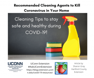cleaning agents to kill coronavirus in your home