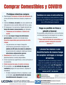 food shopping flyer spanish