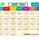 UConn 4-H Activity Calendar- June 2020